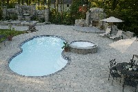 Isle Fiberglass Spa in East Princeton, MA