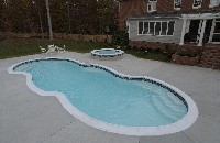 Isle Fiberglass Spa in Holden, MA