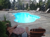 Rio Fiberglass Pool in South Barre, MA