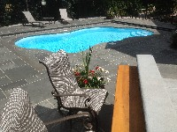 Rio Fiberglass Pool in South Lancaster, MA