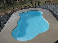 Rio Fiberglass Pool in North Brookfield, MA