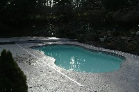 Rio Fiberglass Pool in North Chelmsford, MA