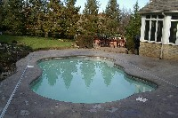 Rio Fiberglass Pool in Northborough, MA