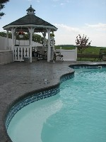 Rio Fiberglass Pool in Paxton, MA