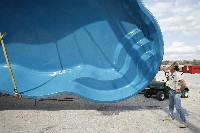Rio Fiberglass Pool in Peterborough, NH