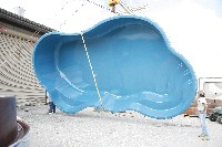 Rio Fiberglass Pool in Petersham, MA