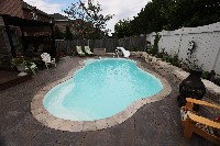 Rio Fiberglass Pool in Rutland, MA